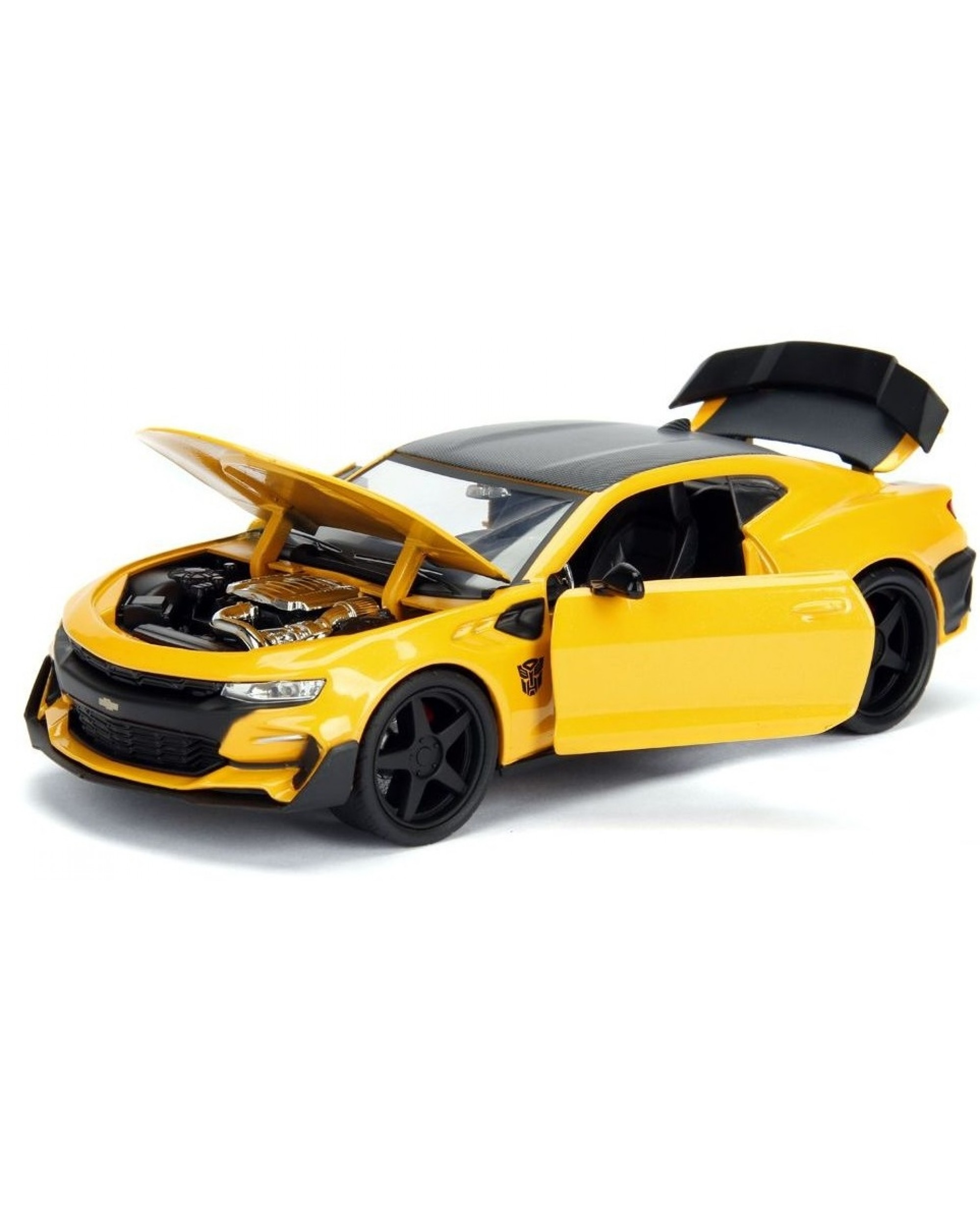 Masinuta - Chevrolet Camaro Bumblebee Yellow | Jada Toys