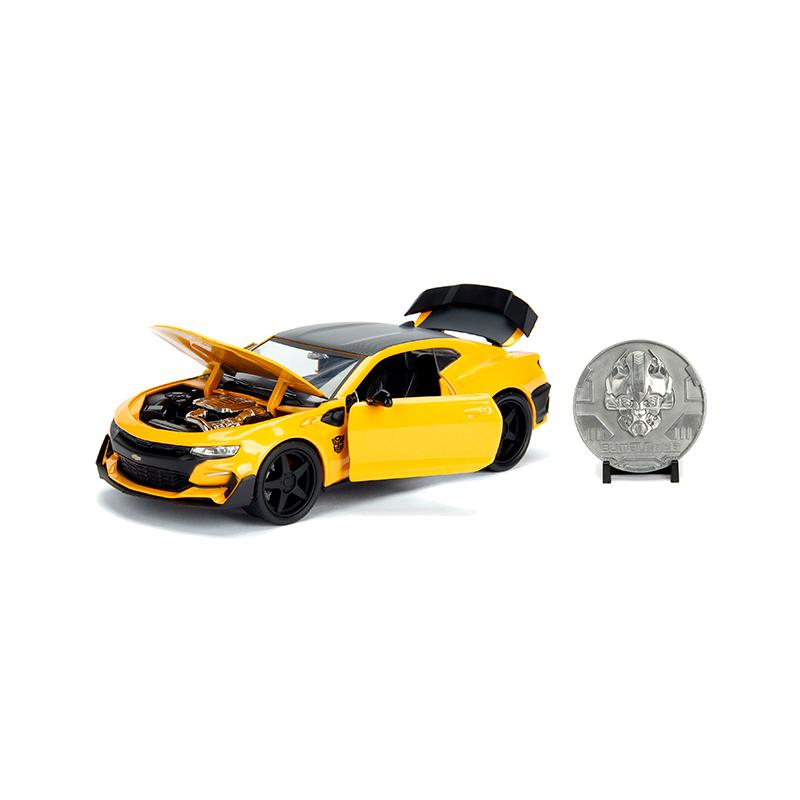 Masinuta - Chevrolet Camaro Bumblebee Yellow   Jada Toys - 1
