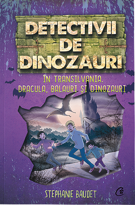 Imagine Detectivii De Dinozauri In Transilvania - Dracula, Balauri Si - Stephanie