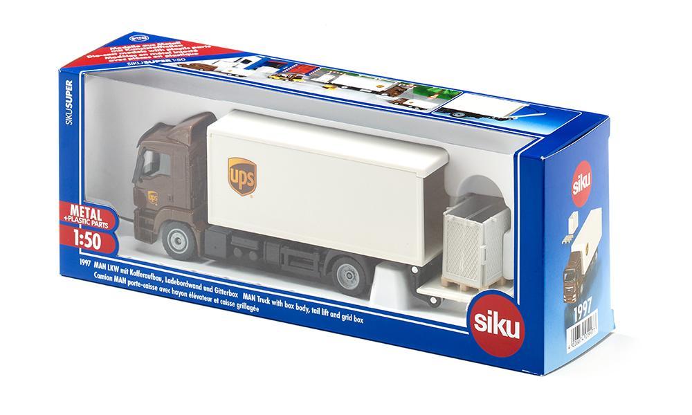 Camion - Man Truck UPS | Siku - 4