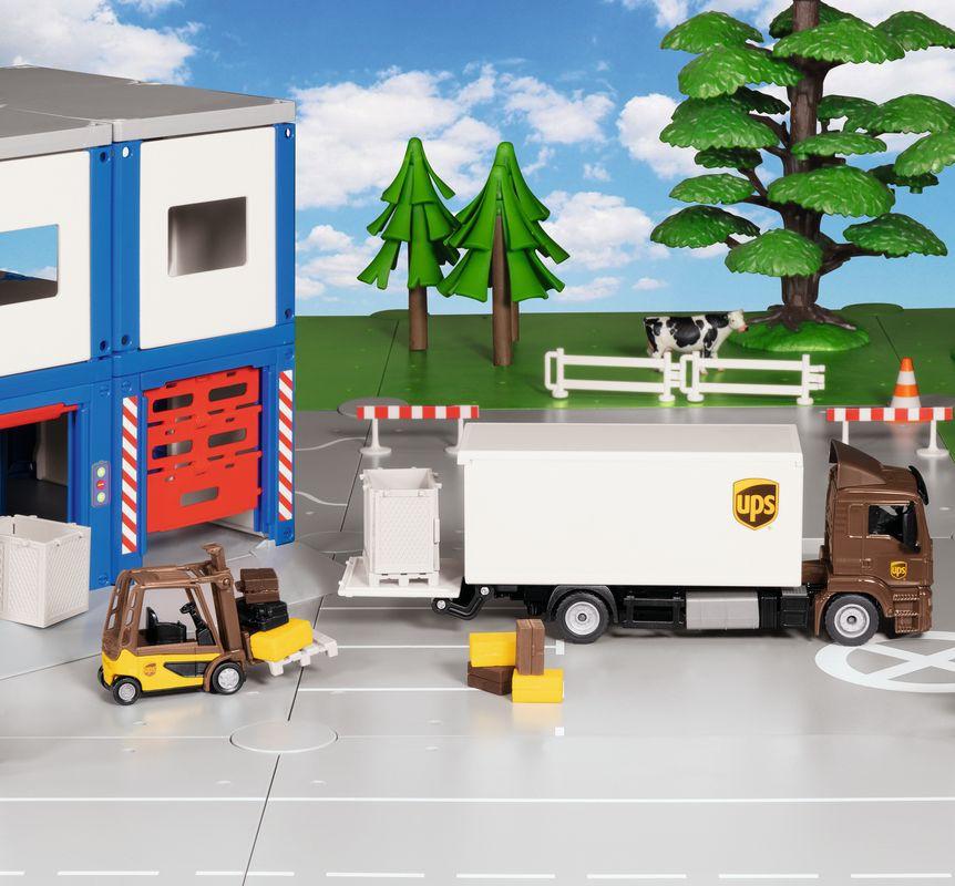 Camion - Man Truck UPS | Siku