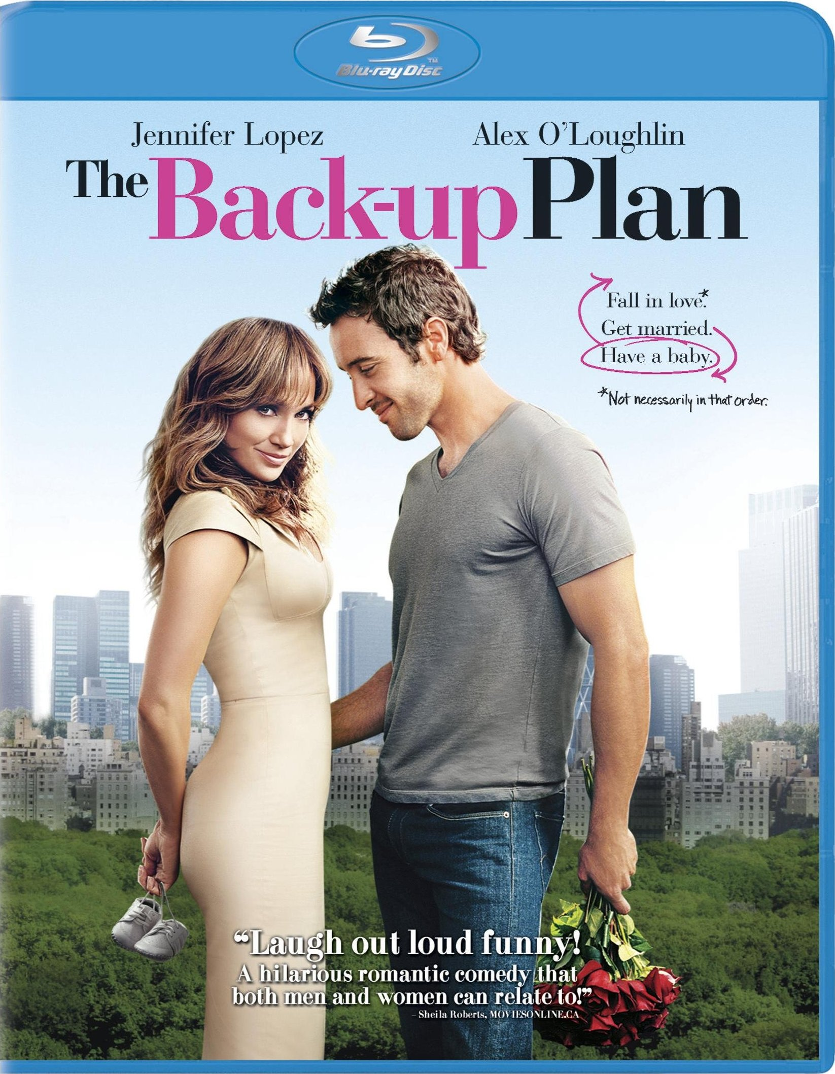 Plan de rezerva (Blu Ray Disc) / The back-up plan