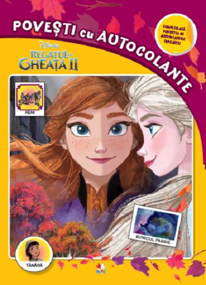 Disney. Regatul De Gheata II. Povesti Cu Autocolante