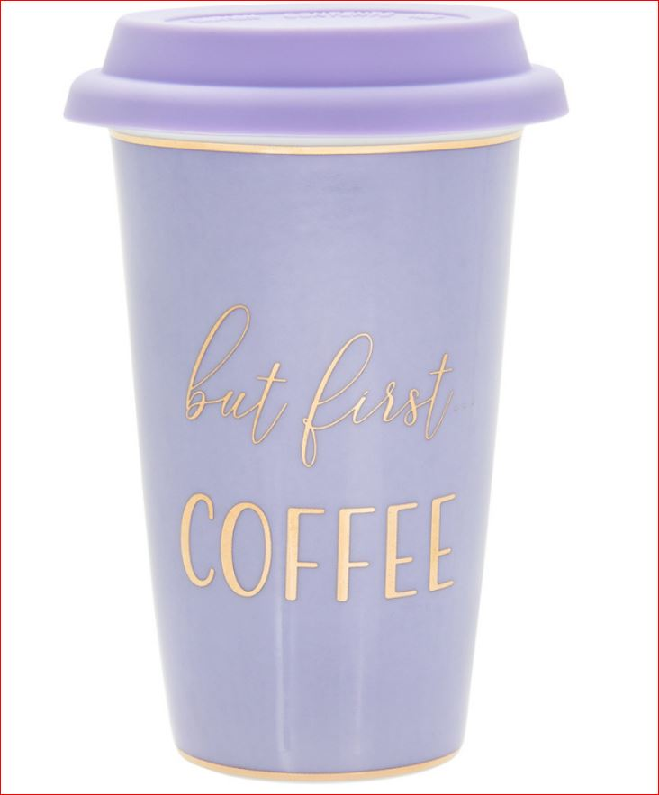 Travel Mug Lets Party-But first Coffee