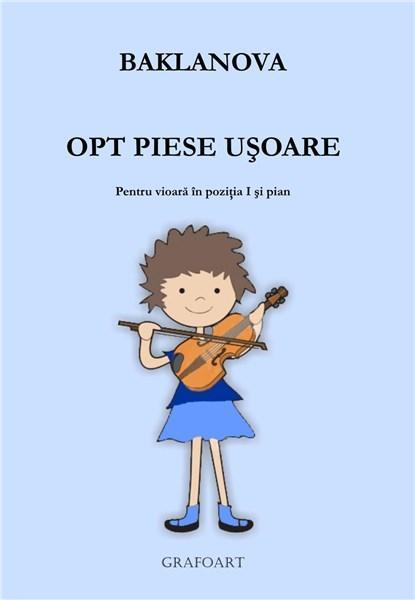 Opt piese usoare (vioara)