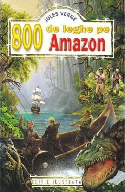 800 de leghe pe Amazon | Jules Verne