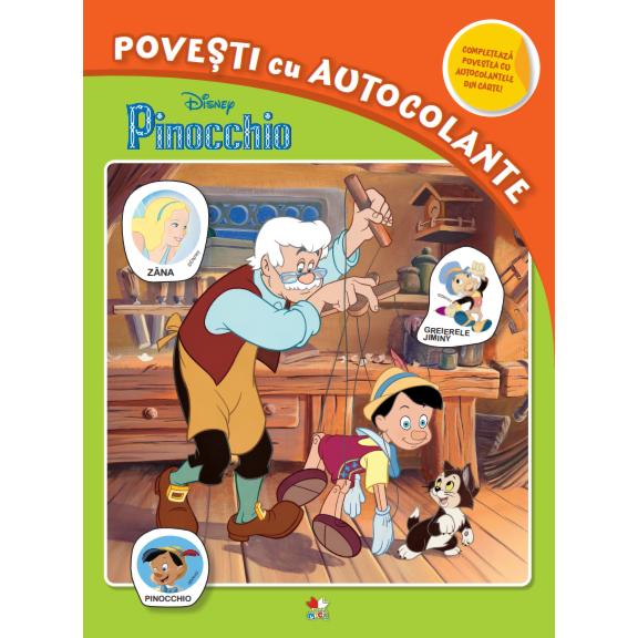 Pinochio - Povesti Cu Autocolante