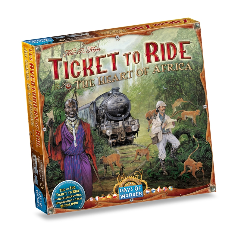 Ticket to Ride - The Heart of Africa | Days of Wonder