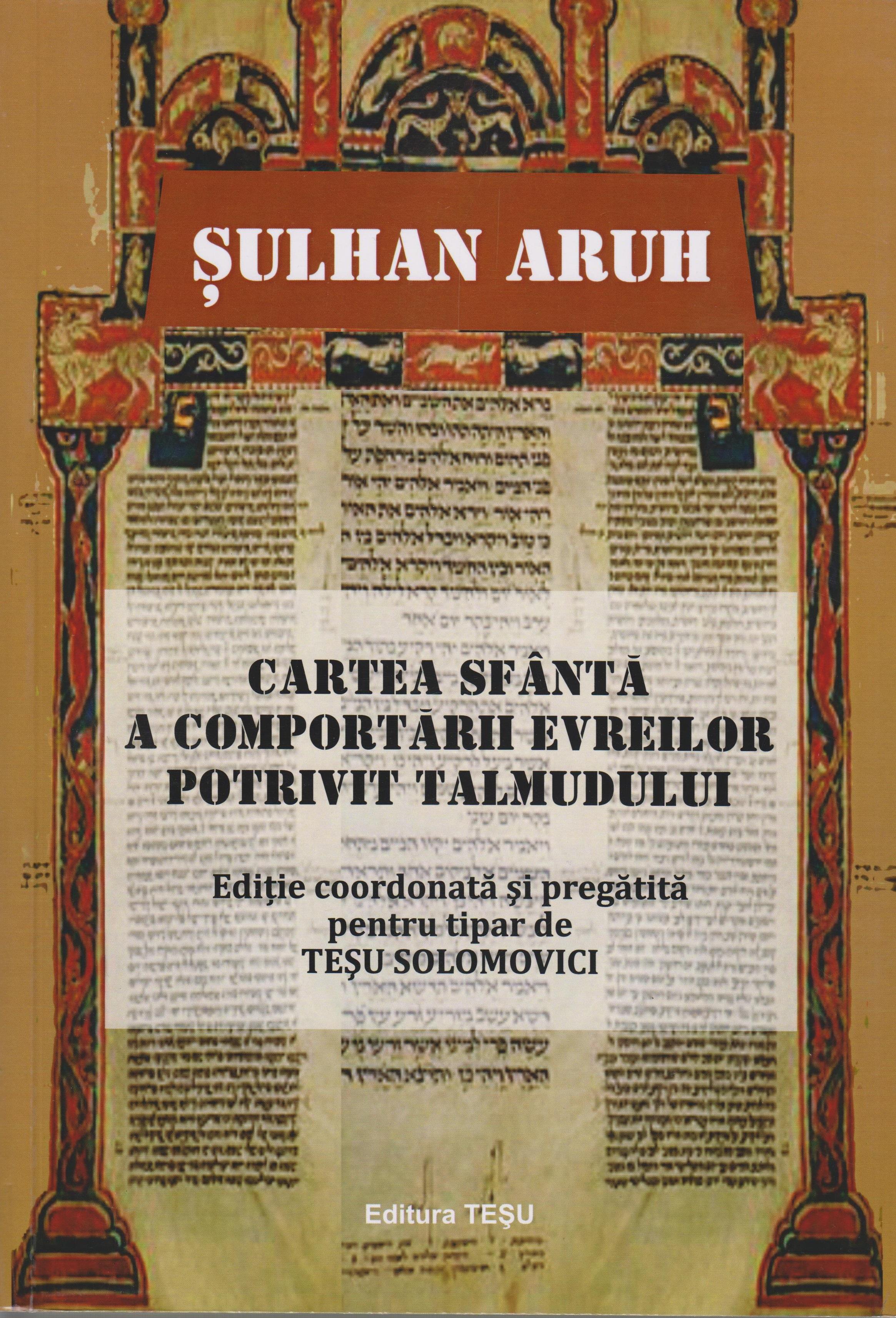 Codexul sfant al comportarii evreilor potrivit Talmudului