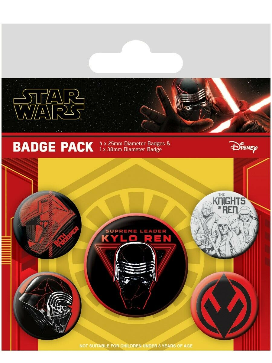 Set insigne - Star Wars - The Rise Of Skywalker - Sith
