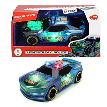 Masinuta- Set Politie Light Strike | Dickie Toys