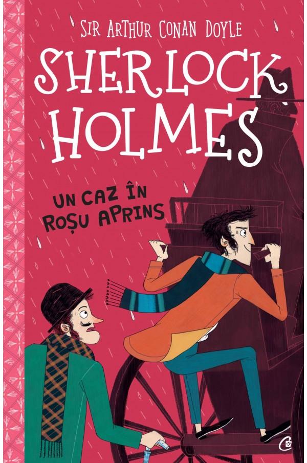 Imagine Sherlock Holmes - Un Caz In Rosu Aprins - Stephanie Baudet