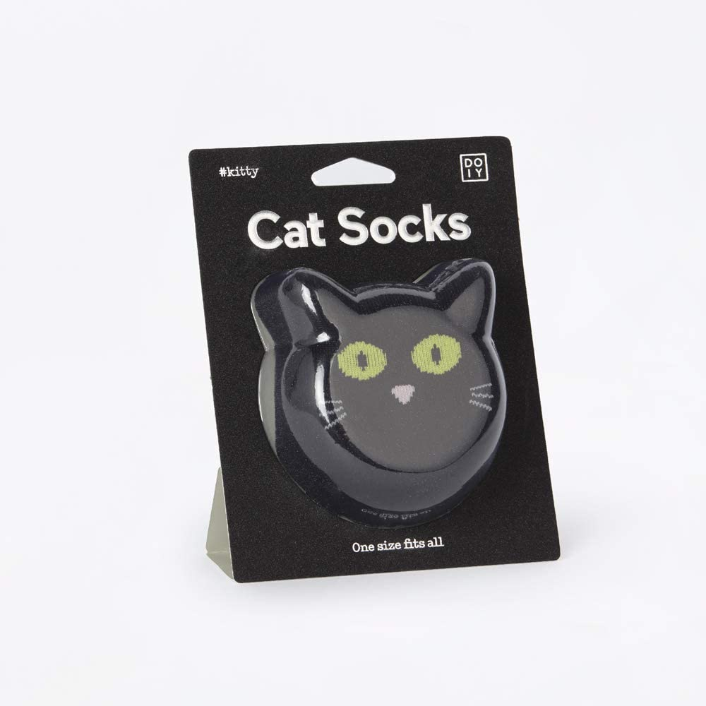 Sosete - Cat Socks - Black