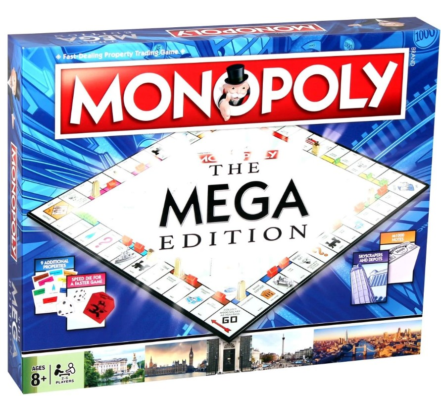 Monopoly - The Mega Edition | Winning Moves