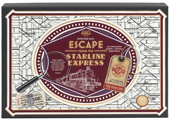 Joc - Escape from the Starline Express | Professor Puzzle
