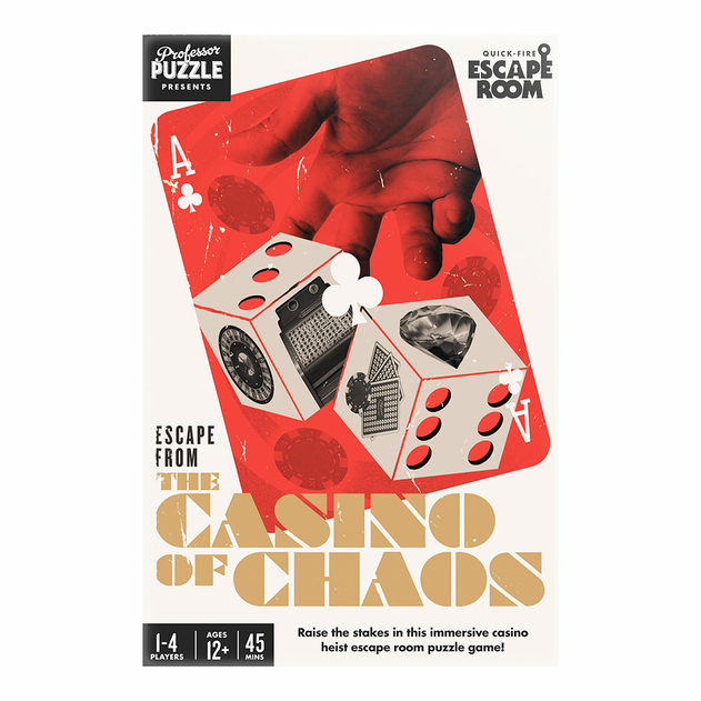 Joc - Escape from the Casino of Chaos | Professor Puzzle