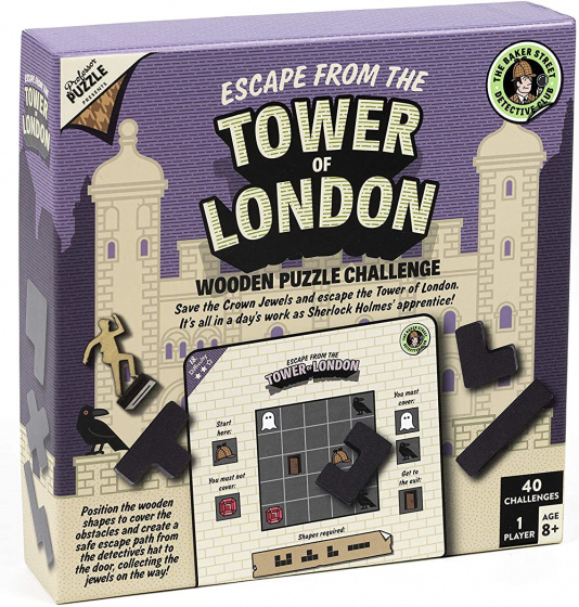Joc - Escape From The Tower Of London | Professor Puzzle