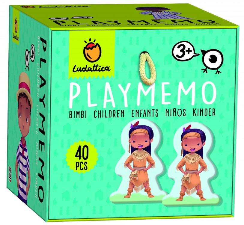 Joc de memorie Playmemo: Copii | Ludattica