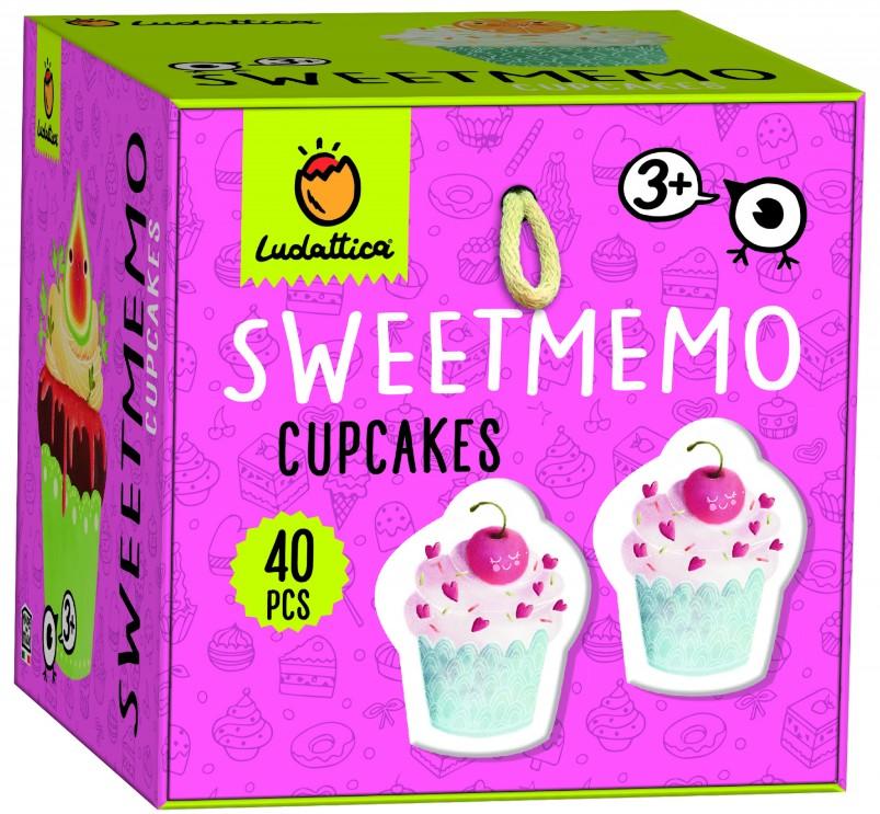 Joc de memorie Sweetmemo: Briose | Ludattica