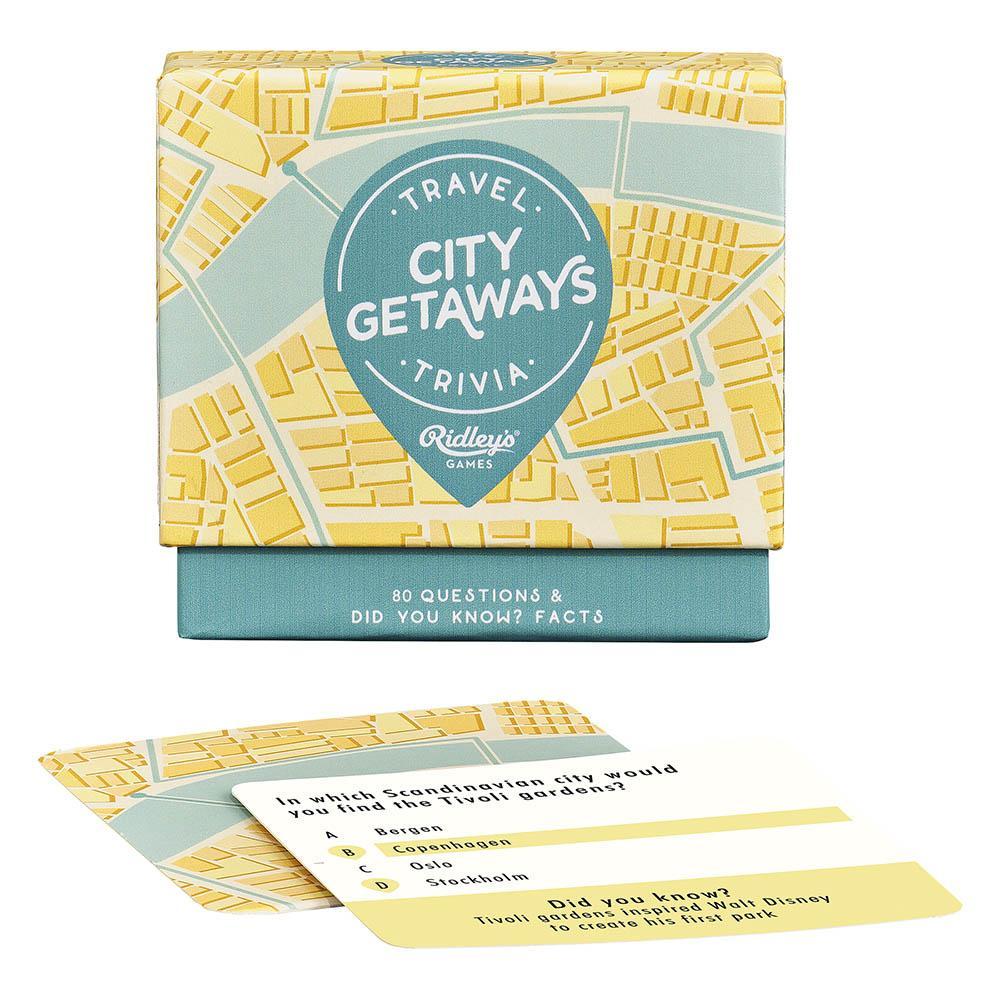 Joc trivia - City Getaway | Ridley's Games