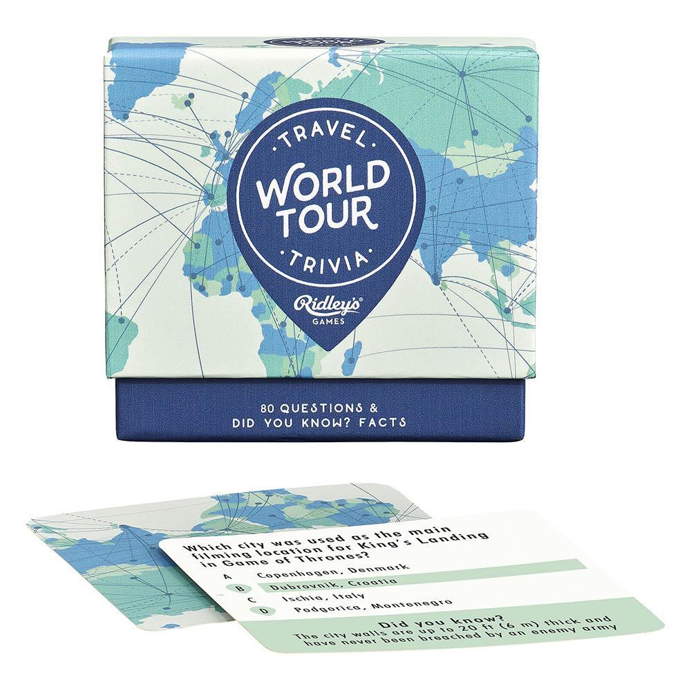 Joc trivia - World Tour | Ridley's Games