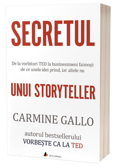 Imagine Secretul Unui Storyteller - Carmine Gallo