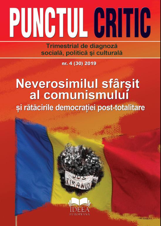 Punctul critic nr. 4: Neverosimilul sfarsit al comunismului si ratacirile democratiei post-totalitare
