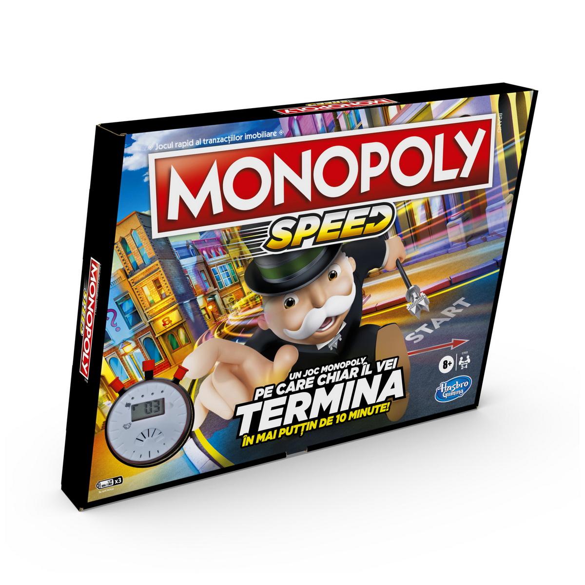 Joc - Monopoly Speed | Hasbro