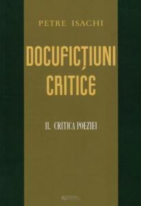 Docufictiuni critice vol. 2 - Critica Poeziei.