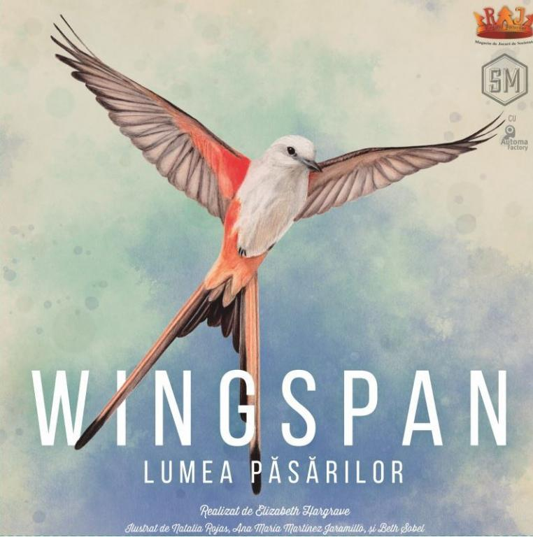 Wingspan: Romanian Edition + Swift Start | Stonemaier Games