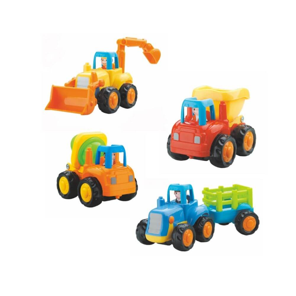 Set 4 vehicule - La ferma | Hola Toys