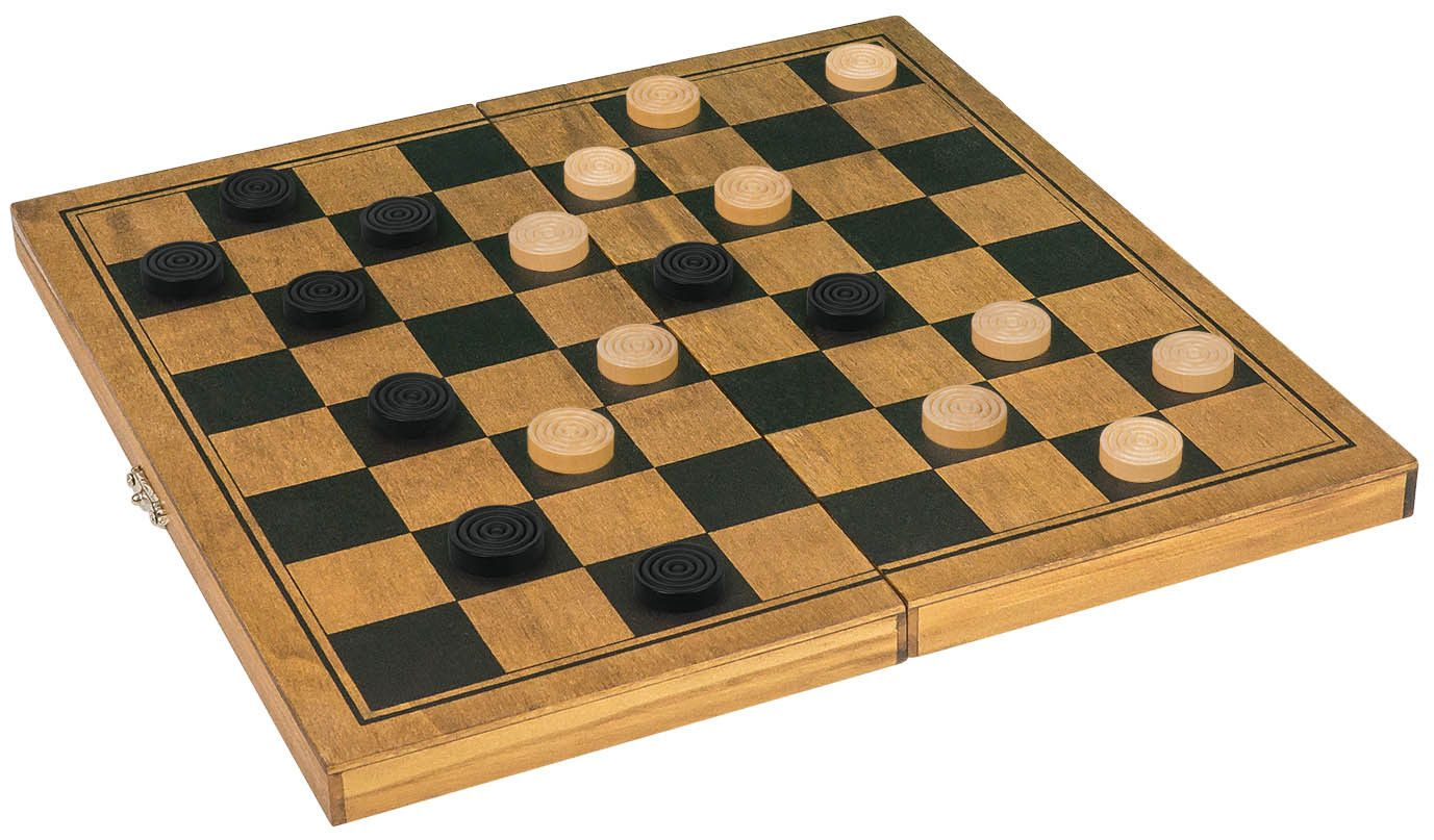 Joc clasic - Draughts | Profesor Puzzle - 1