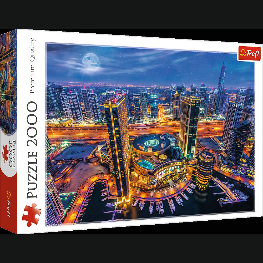 Puzzle 2000 piese - Lights of Dubai   Trefl