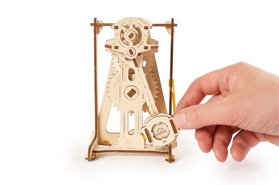 Puzzle 3D - Pendul / Pendulum | Ugears - 1