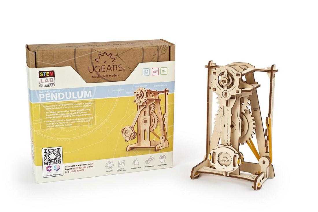 Puzzle 3D - Pendul / Pendulum | Ugears - 4