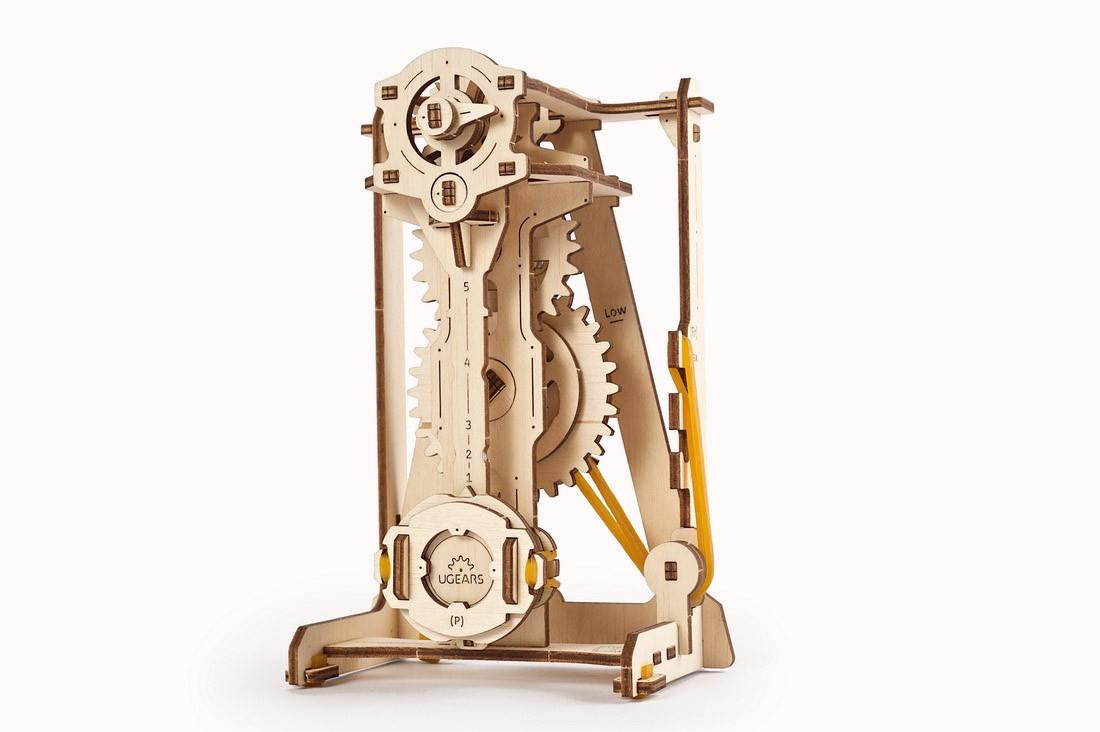 Puzzle 3D - Pendul / Pendulum | Ugears - 8