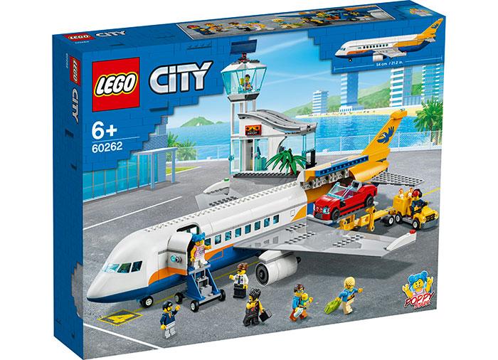 Avion de pasageri (60262) | LEGO