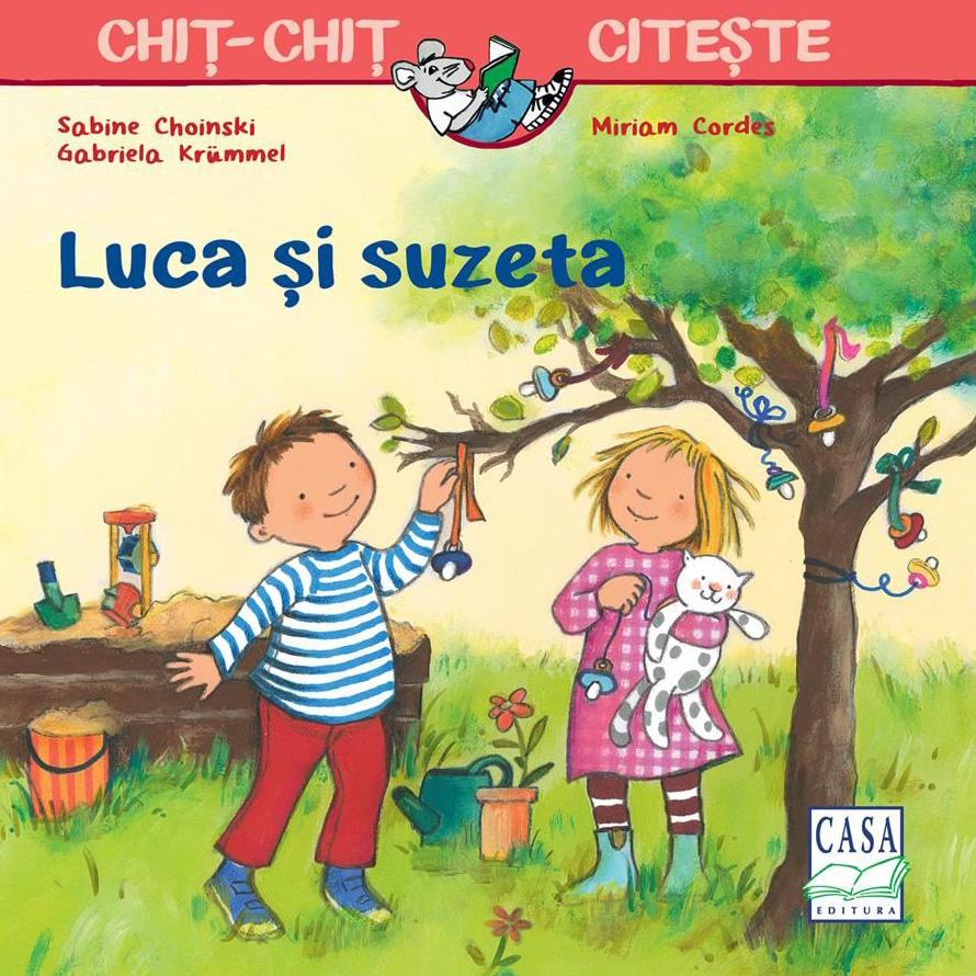 Luca si suzeta