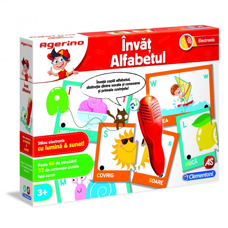 Joc educativ electronic - Agerino , Invat alfabetul   Agerino