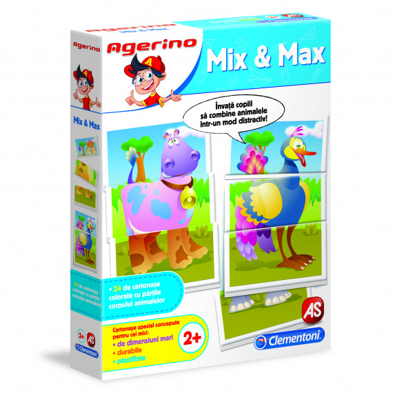 Joc educativ - Agerino: Mix & Max | Agerino