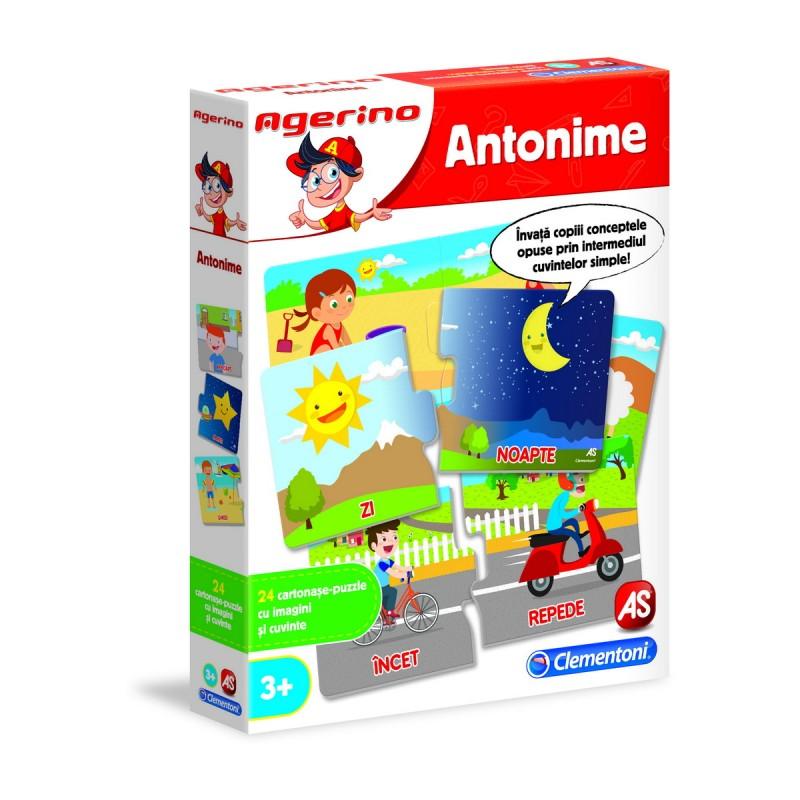 Joc educativ - Agerino: Antonime | Agerino