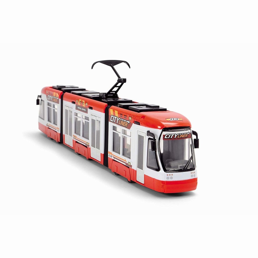Jucarie - Tramvai City Liner - Rosu | Dickie Toys
