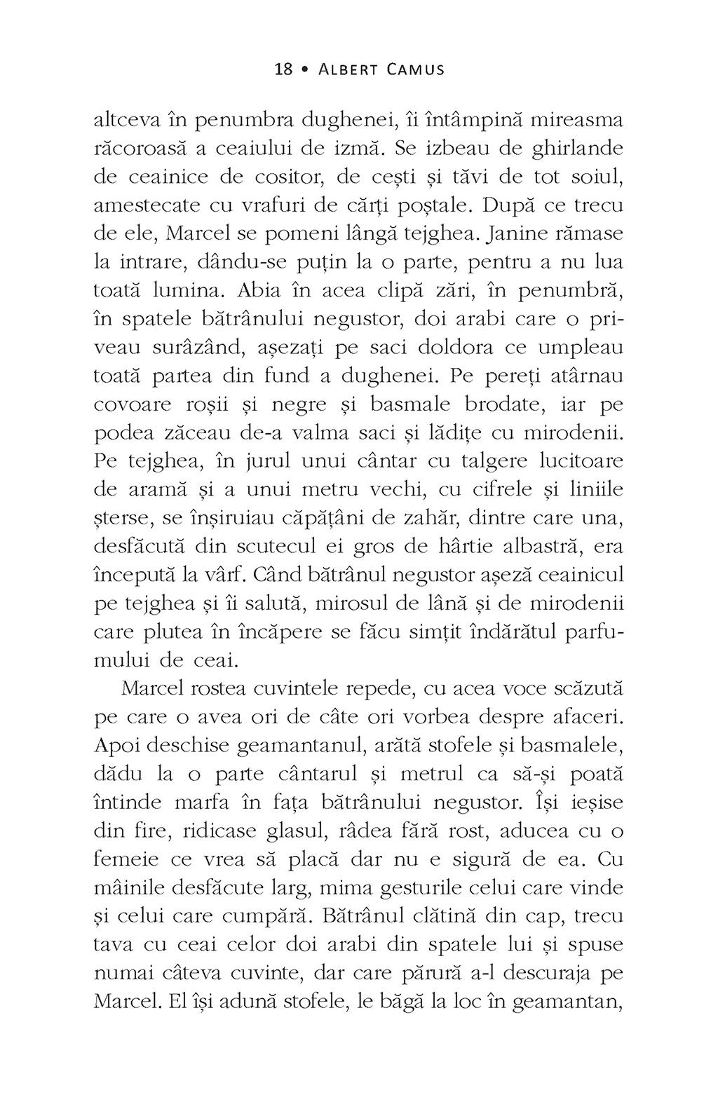Exilul si imparatia | Albert Camus