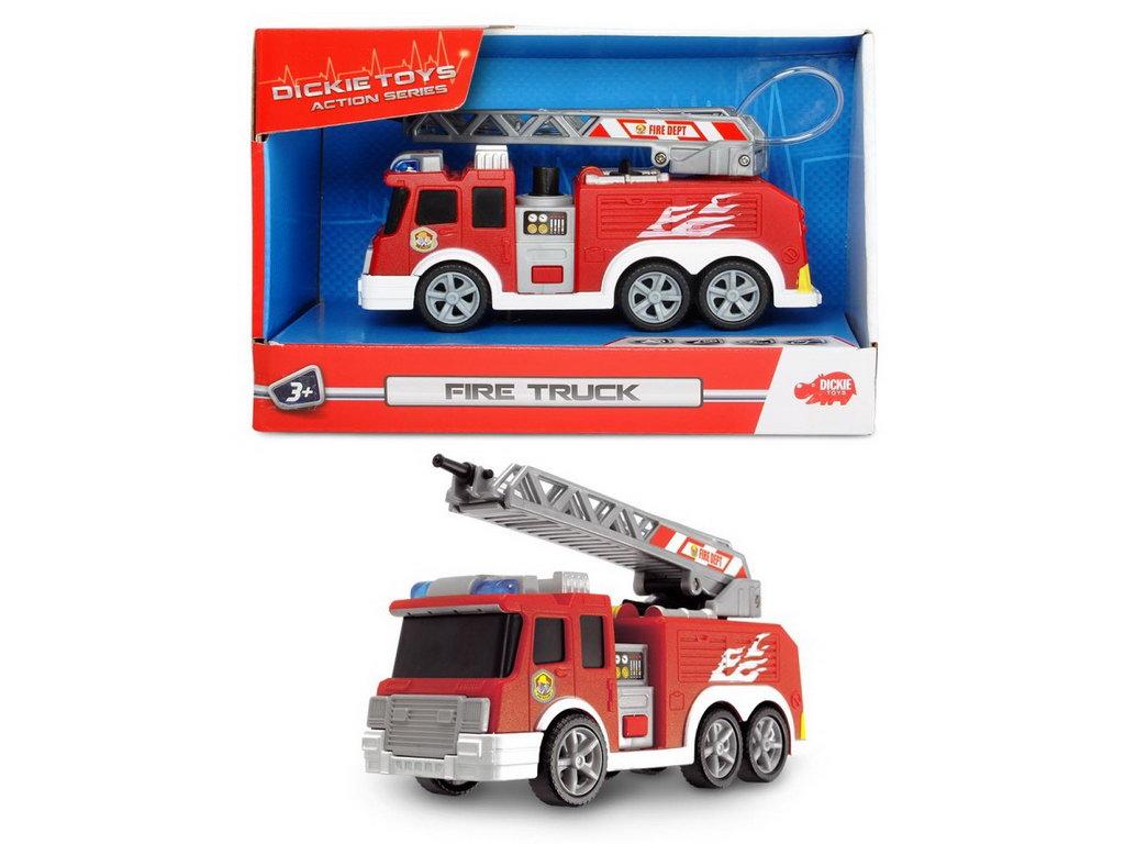 Jucarie - Masina de pompieri / Fire Truck 15cm | Dickie Toys