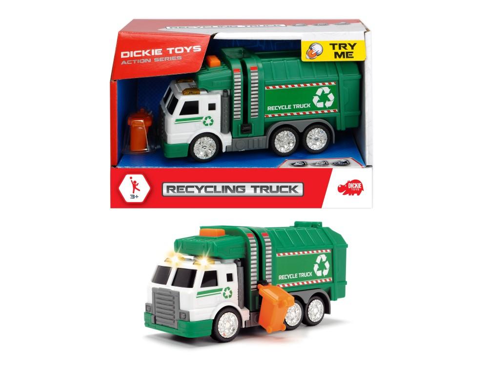Jucarie - Masina pentru reciclare / Recycling Truck   Dickie Toys