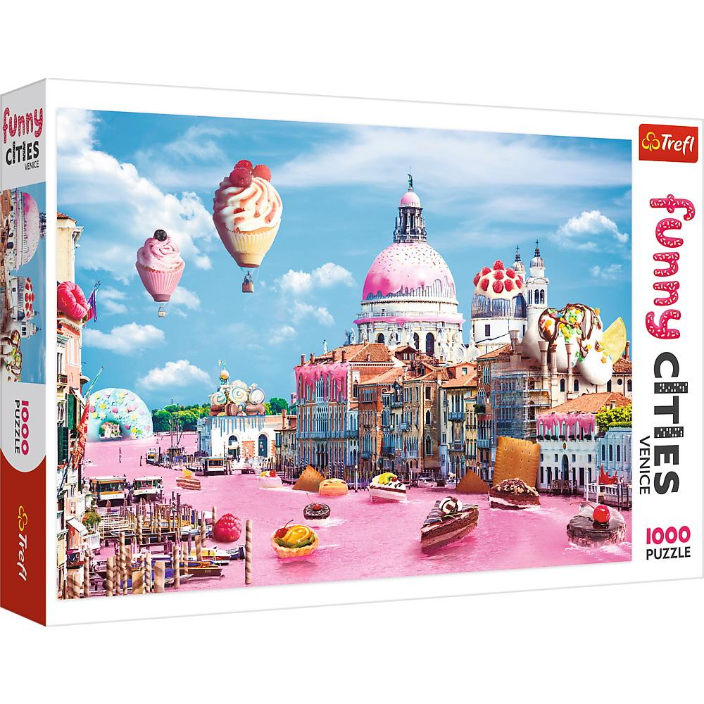 Puzzle Prajiturele La Venetia | Trefl