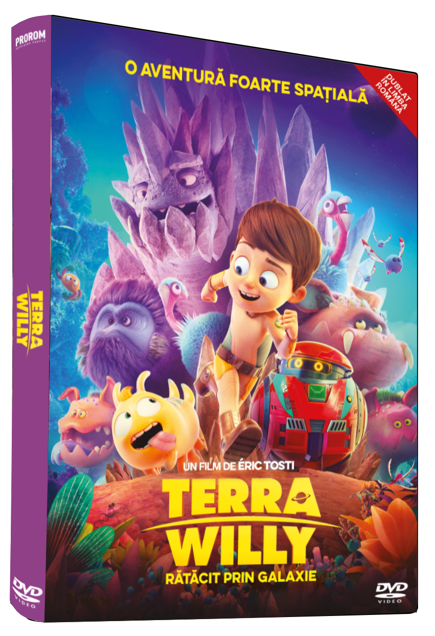 Terra Willy: Ratacit prin Galaxie / Terra Willy: La Planete Inconnue