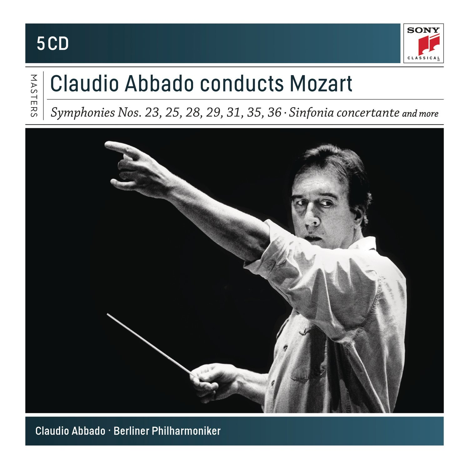 Claudio Abbado Conducts Mozart - CD