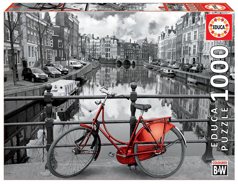 Puzzle 1000 piese - Amsterdam | Educa