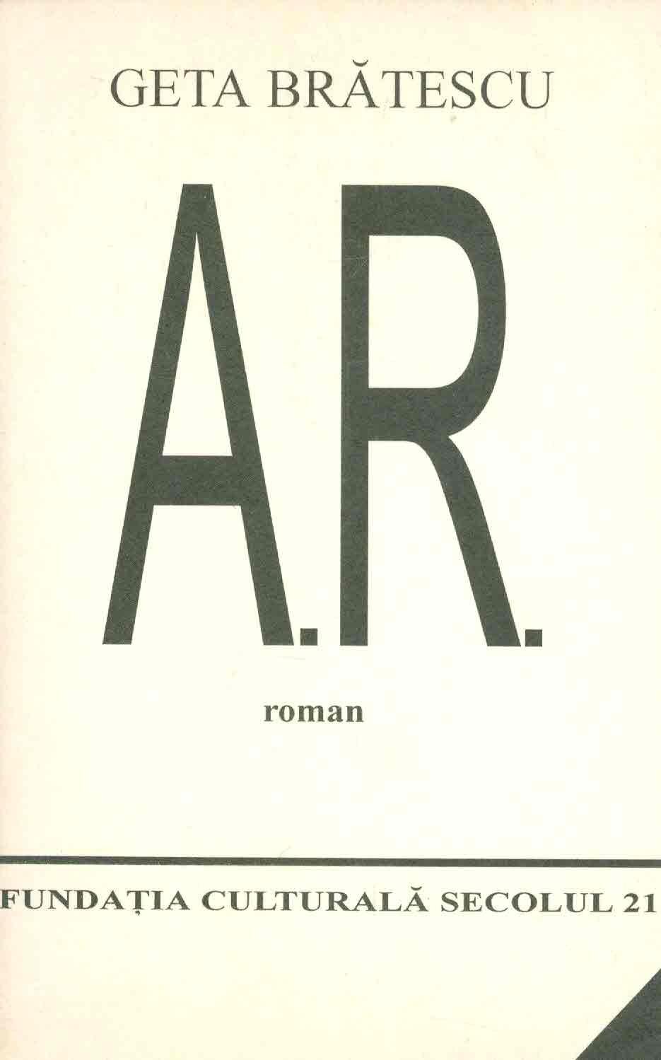 A.R. Roman | Geta Bratescu